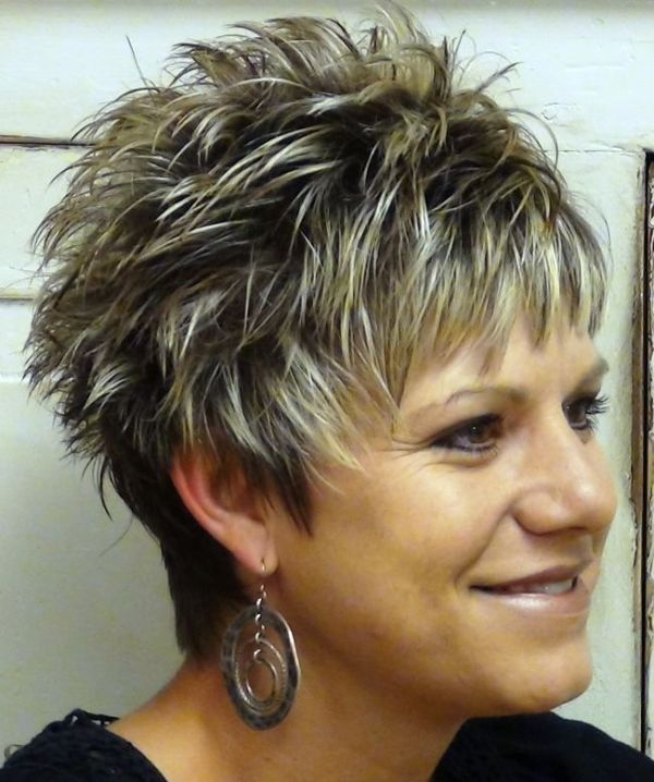 Short Spikey Hairstyles for Women over 40 2014 Short Spiky Haircuts