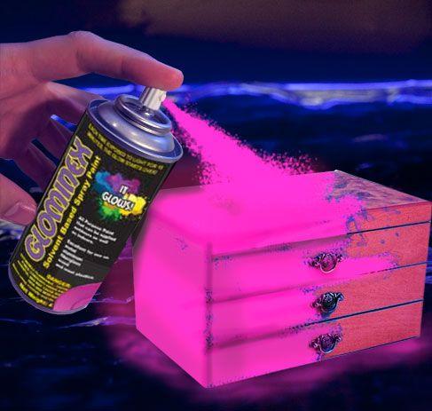 Glow Spray Paint Glow Paint Glow In The Dark Paint Glowsource Com Neon Spray Paint Glow Paint Spray Paint