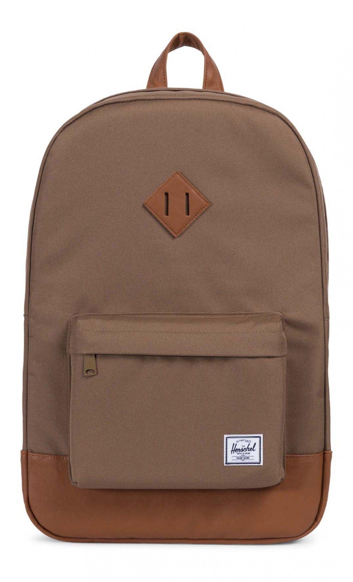 941f08283cb5 Herschel Heritage Backpack 600D Poly Cub Tan