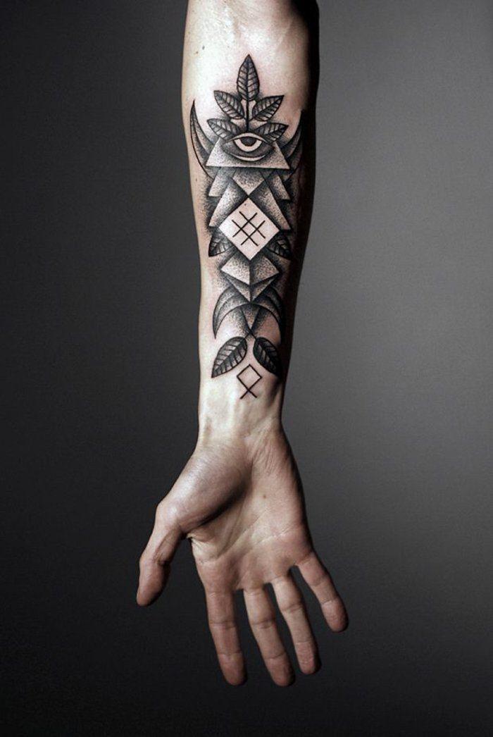 Tatouages géométriques , belle idée ou tendance qui va s\u0027évaporer ,  Archzine.fr