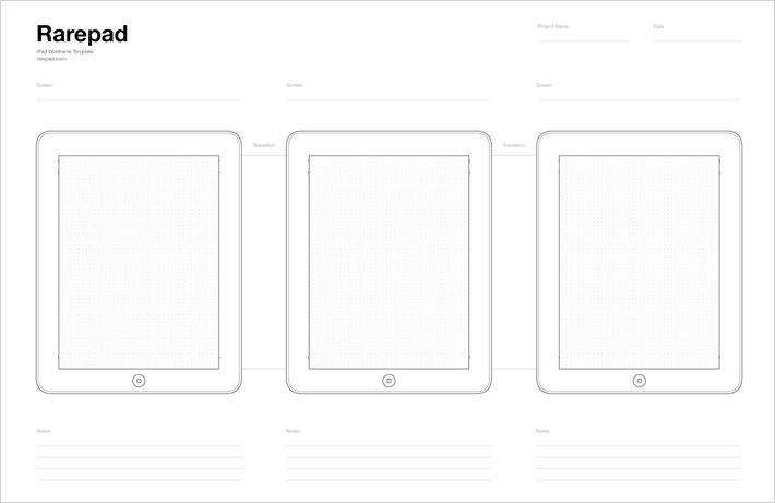 iphone ipad browser wireframe templates on tipwell - Wireframe Ipad