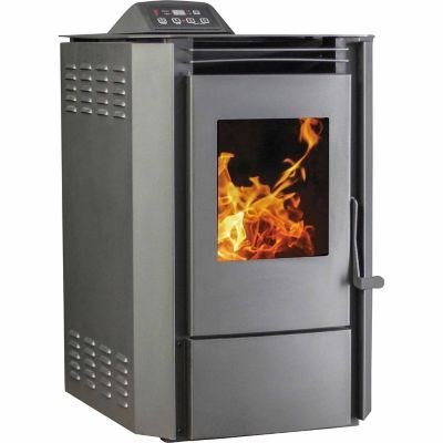 Ashley Pellet Stove 2 200 Sq Ft With Thermostat And Remote Pellet Stove Stove Wood Pellet Stoves