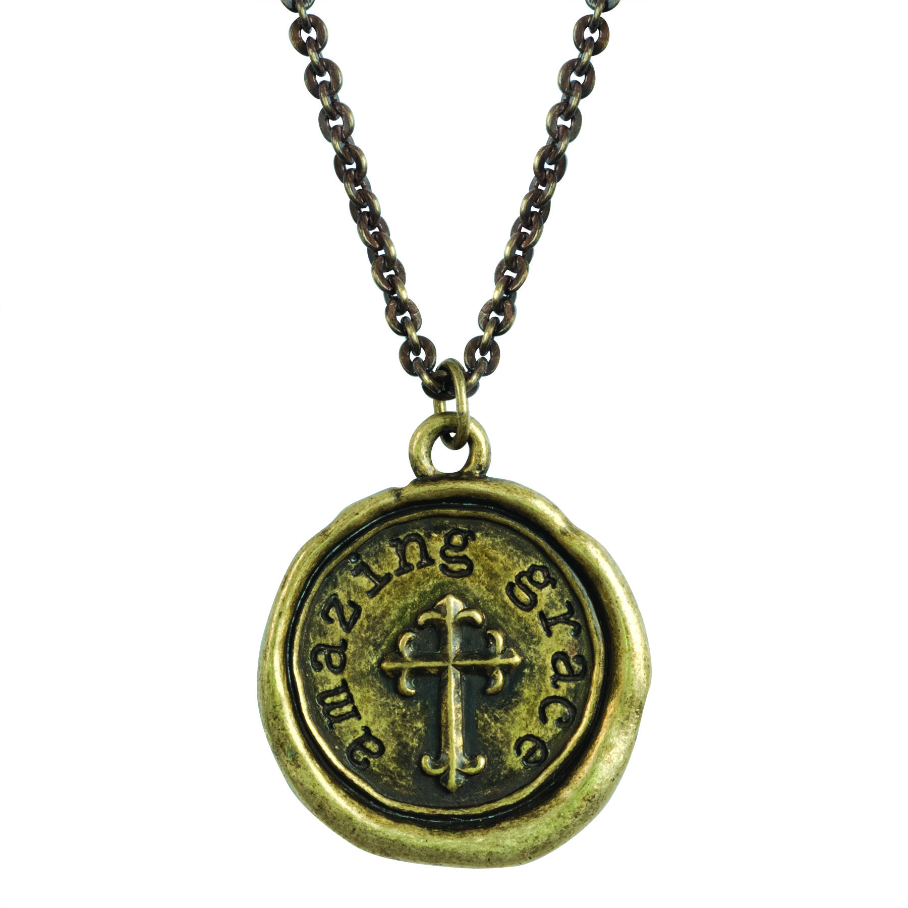 c1ce919ad6a524 Fashion Christian Necklace - Amazing Grace on SonGear.com - Christian  Shirts, Jewelry