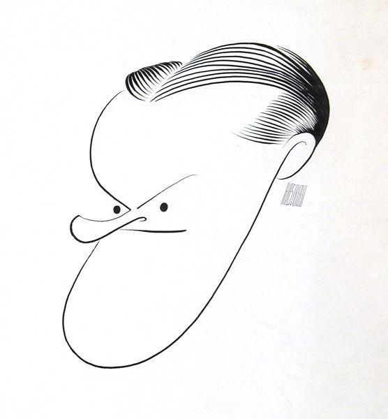 'Bob Hope' - by Al Hirschfeld
