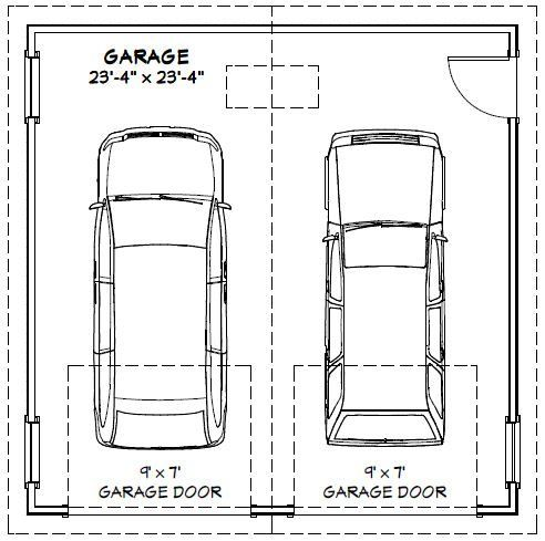 2 Car Garage Dimensions Http Undhimmi Com 2 Car Garage Dimensions 56 24 11 Html In 2020 Garage Dimensions Garage Door Sizes Car Garage