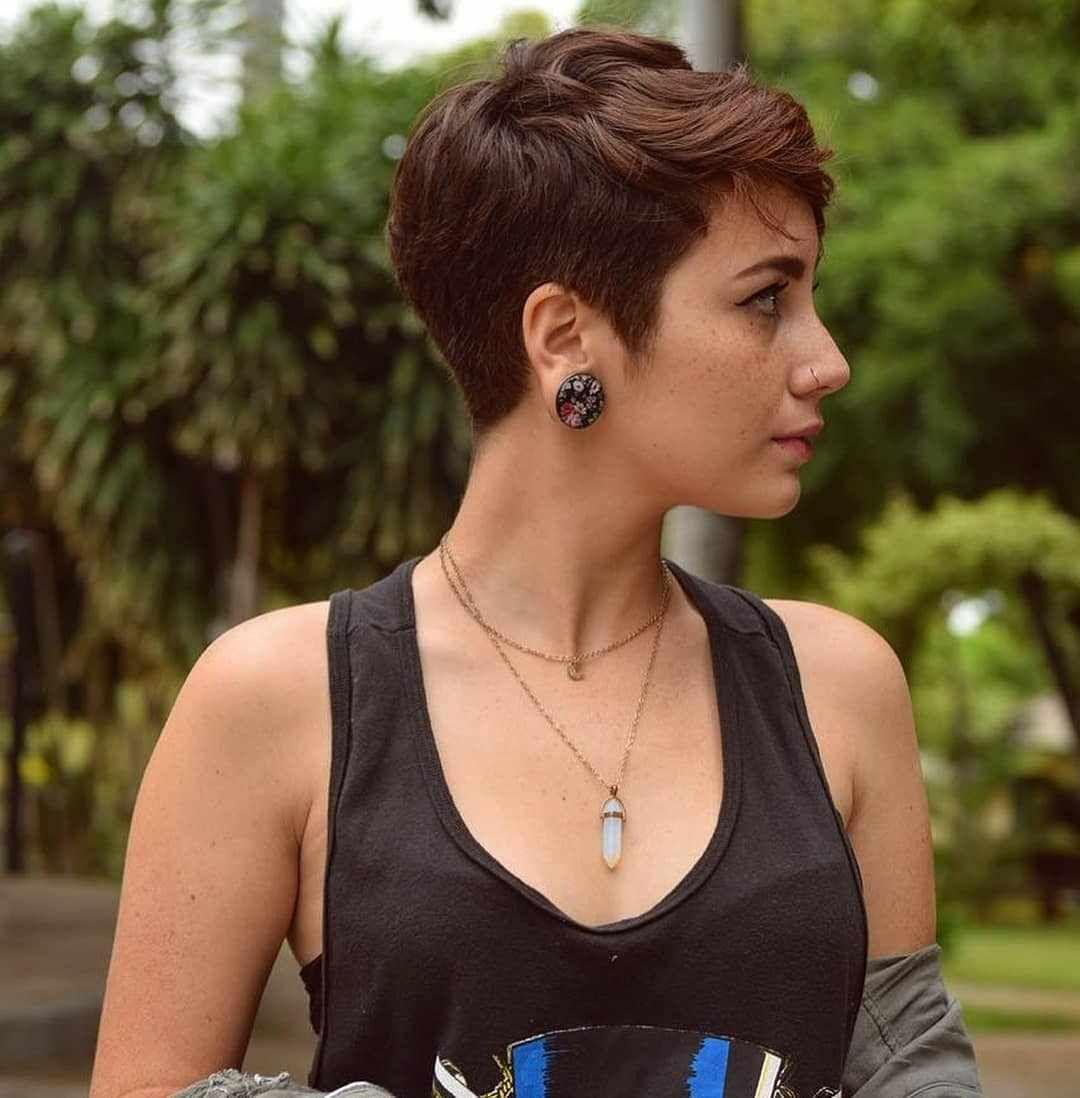 50 Best Female Haircut Style For Short Hair #shortpixie