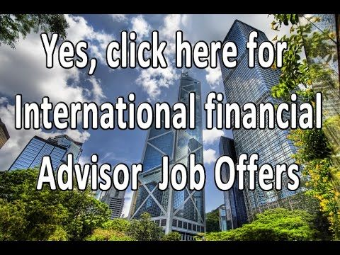 IFA Jobs offshore @    wwwifa-jobs International - financial advisor job description