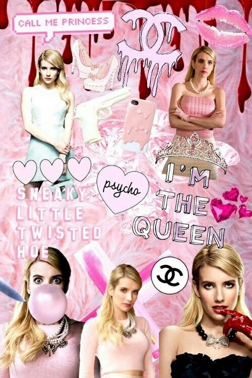 9e6a4a81299d9 Pinterest: pariscakes07 Queens Wallpaper, Chanel Oberlin, Scream Queens,  Kylie Jenner, Billie