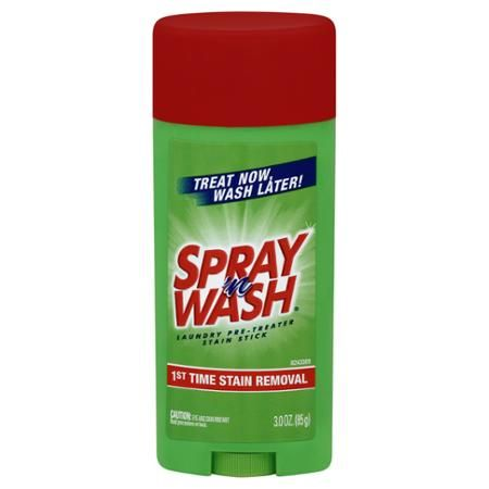 Spray N Wash Laundry Pre Treater Stain Stick 3 Oz Laundry Stains Stain Spray