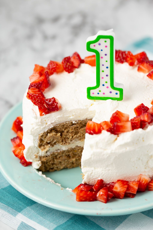 Baby S First Birthday Cake Recipe Smash Cake Recipes Healthy