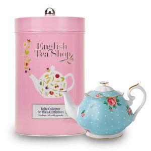 English Tea Shop - Boite collector géante de thé et infusions bio (48 sachets)