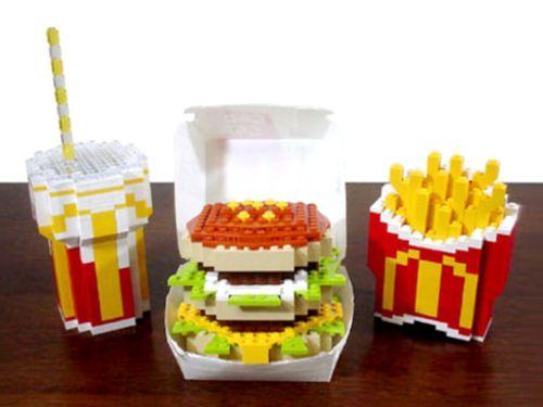 Lego burger lego yummy | LEGO! | Pinterest | Lego, Legos and Lego food