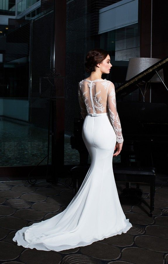 The Eternity Gown www.trishpeng.com/bridal   Trish Peng Wedding ...