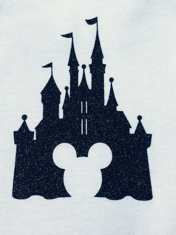 choice of 1 Disney Halloween personalized glitter vinyl iron on transfer
