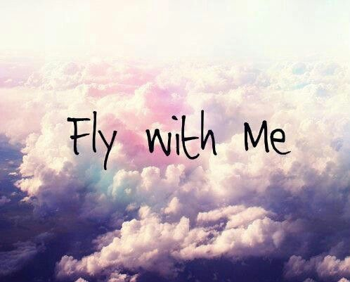 Fly with mee (: