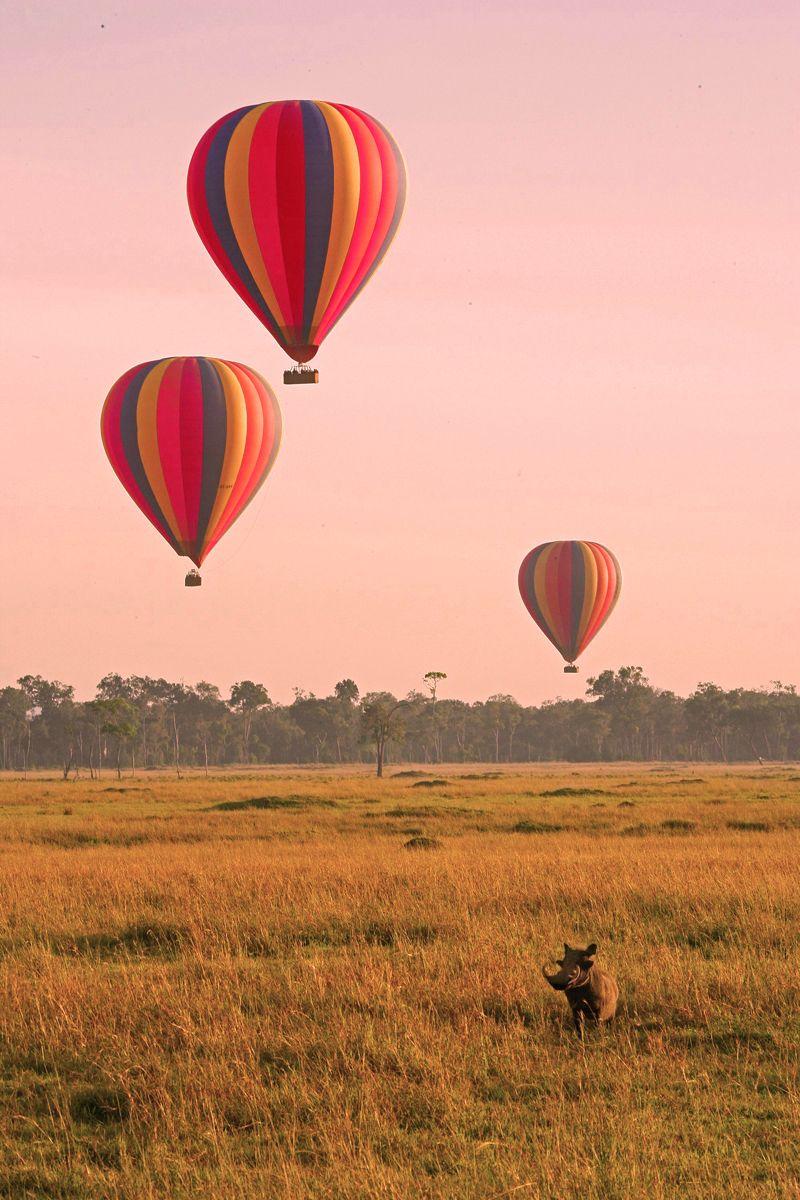 Dream Hot air balloon ride/safari Hot air balloon