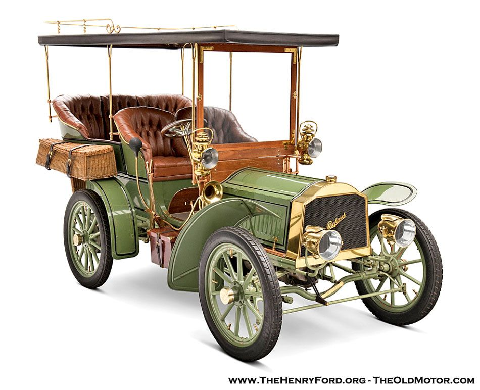 A 1904 Packard from The Henry Ford Museum Collection | The Old ...
