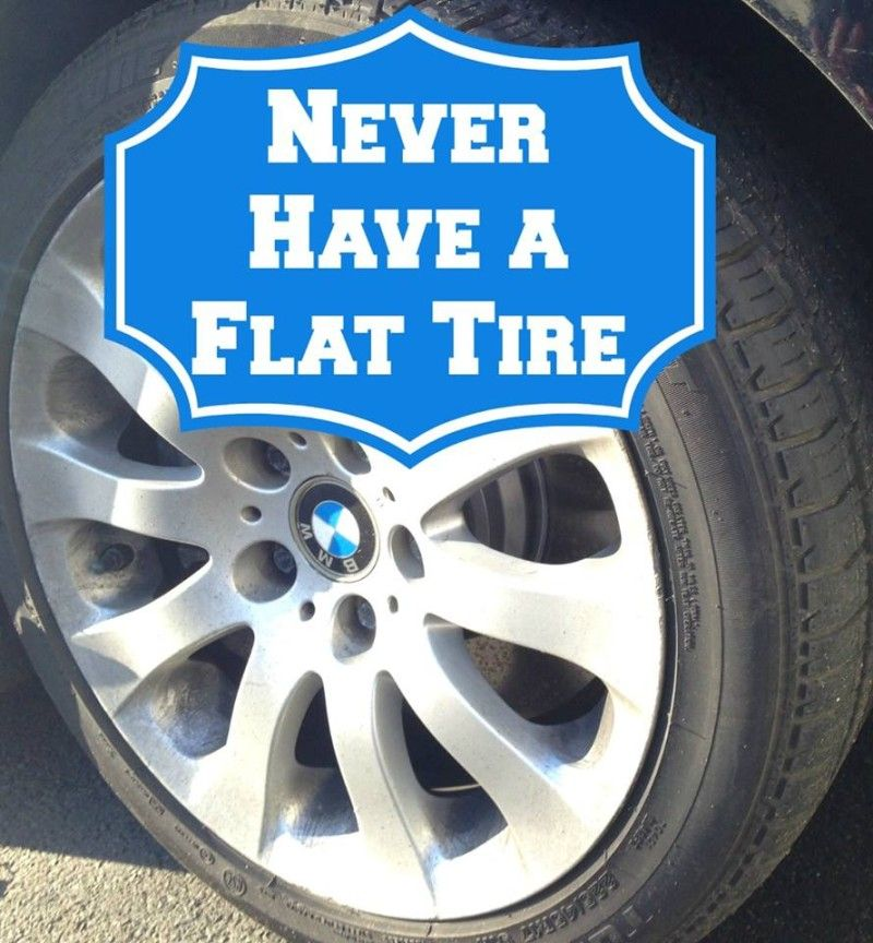 The Truth About Run Flat Tires A Girls Guide To Cars Run Flat Tire Flat Tire Tire