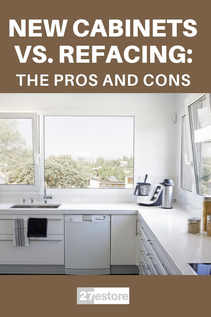 New Cabinets Vs Refacing The Pros And Cons New Cabinet Kitchen Cabinet Trends Kitchen Remodel