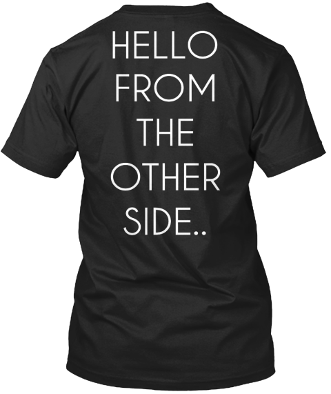 Adele - Hello From The Other Side - Adele Fan T Shirt