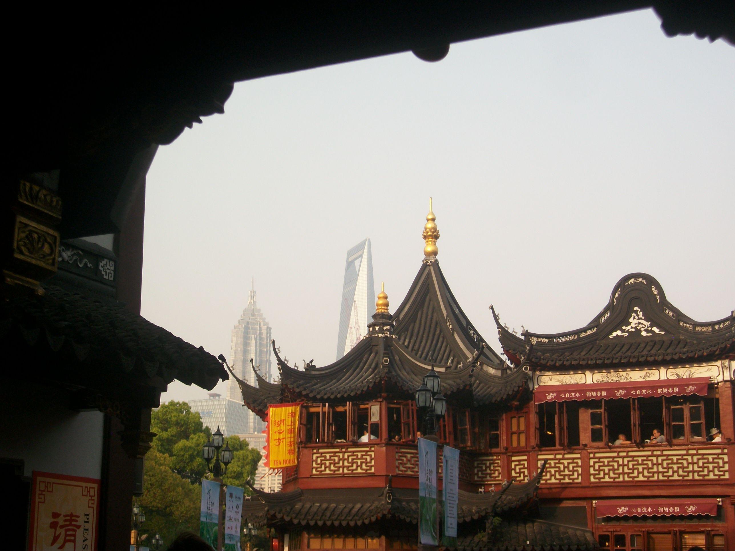 Shanghai Vieille Ville Chinoise Pres Du Jardin Yu I Spent Many