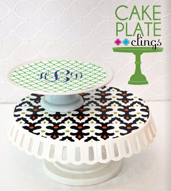 Cake plate clings!!! I can\u0027t tell you how exciting this is  sc 1 st  Pinterest & The Party Dress Holiday Magazine \u0026 New Cake Plate Clings | Cake ...