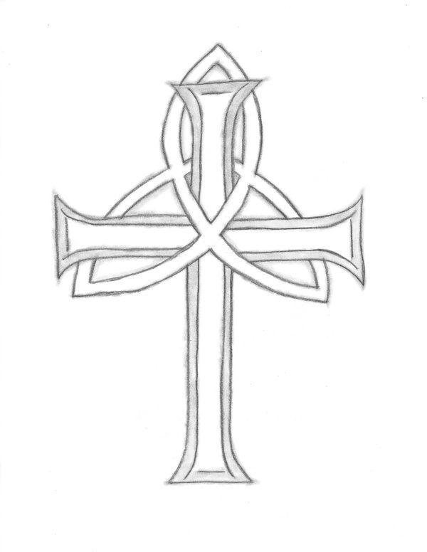 Holy Trinity Symbol Cross Clipart Library
