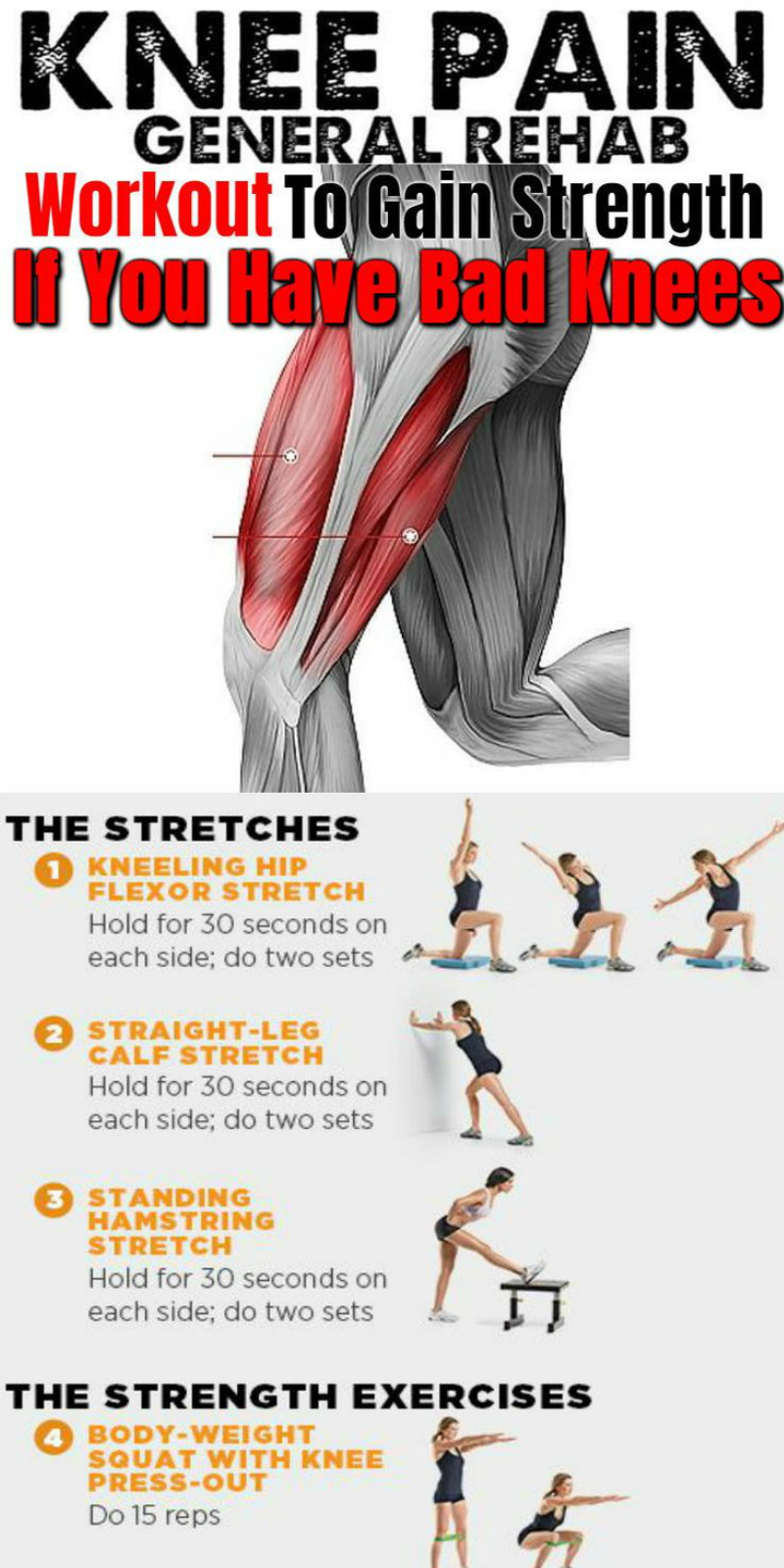 6 Knee Strengthening Exercises For A Meniscus Tear