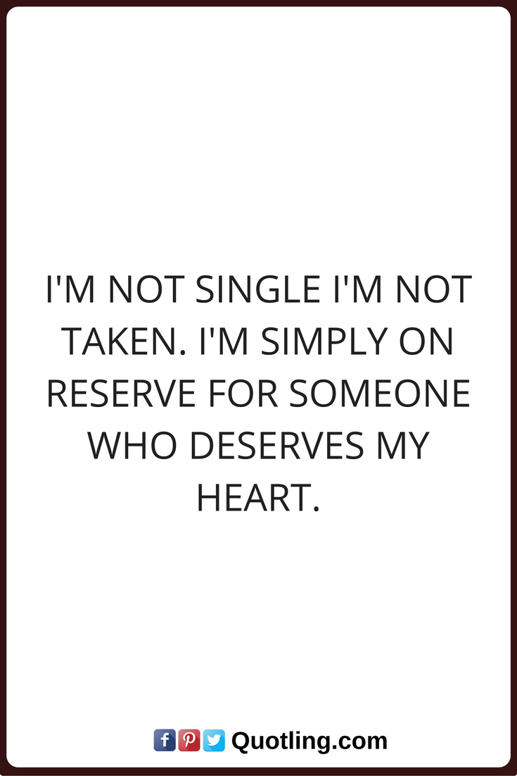 Free & Single