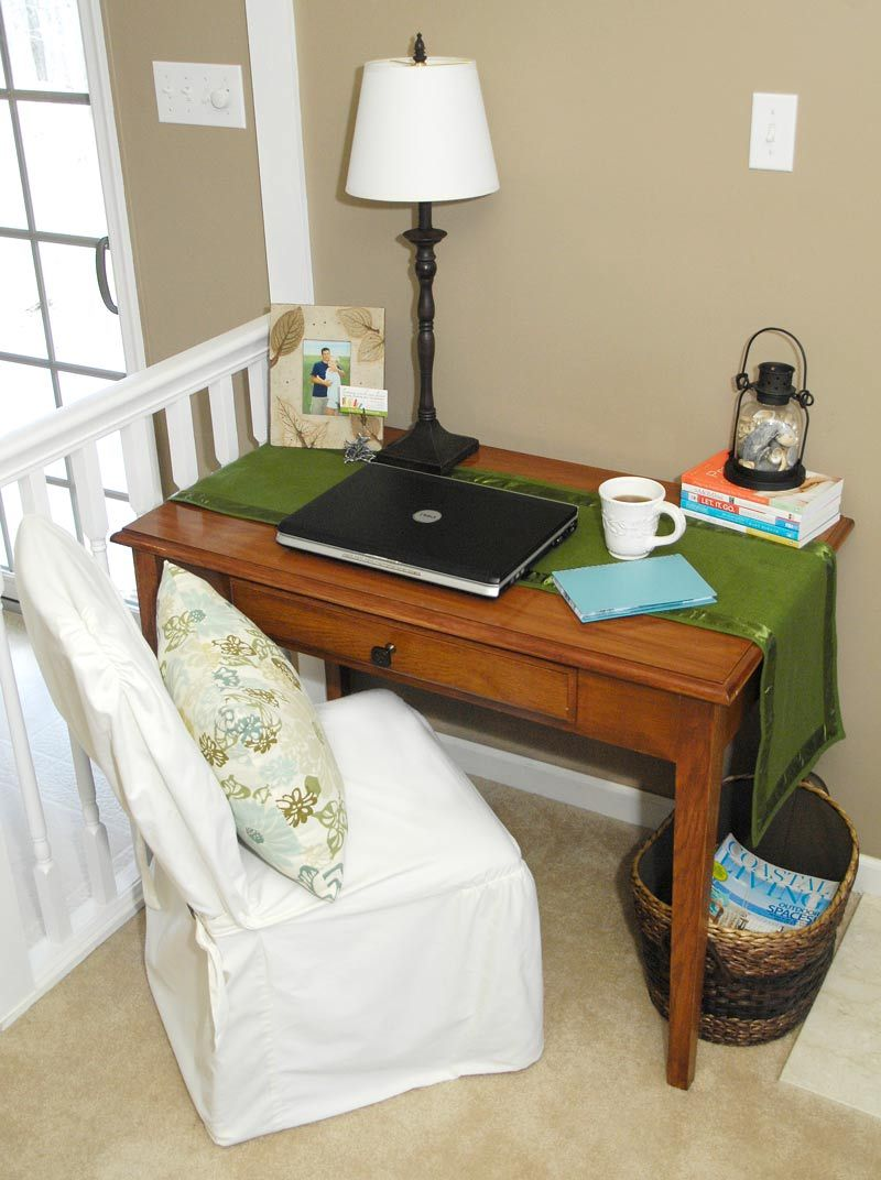 makeshift office. My New Makeshift Office Space - Living Rich On Less Pinterest