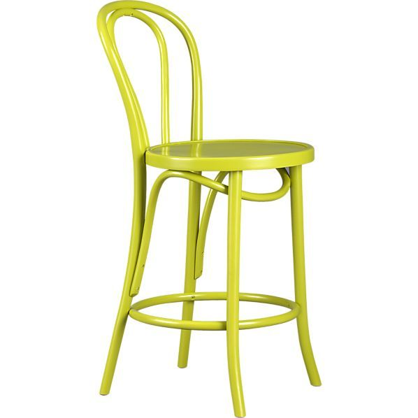 Crate U0026 Barrel ViennaBarstool24   Bright Apple Green But Could Respray  Pigeon Or Wythe Blue · Kitchen StoolsCounter ...