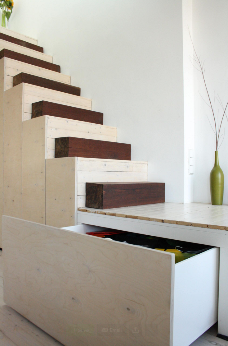 Houzz - unique stair