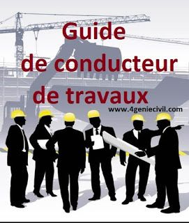 Guide conducteur de travaux pdf cours de genie civil en 2019 pinterest conducteur de for Cours de construction pdf