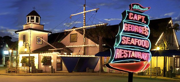 Captain George S Family Owned Seafood Restaurant In Myrtle