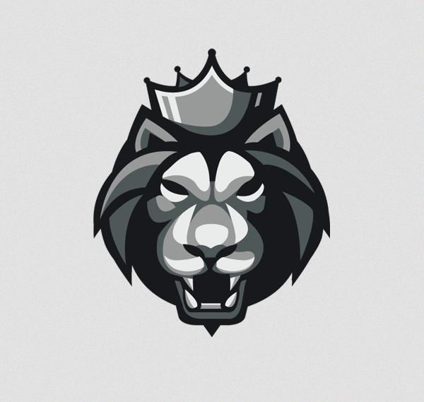 Black Lion Apparel On Behance Lion Logo Black Lion Lion Icon