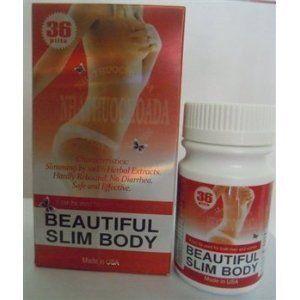 Beautiful Slim Body Original NHATHUOCHOADA- 36 Soft Gel ...
