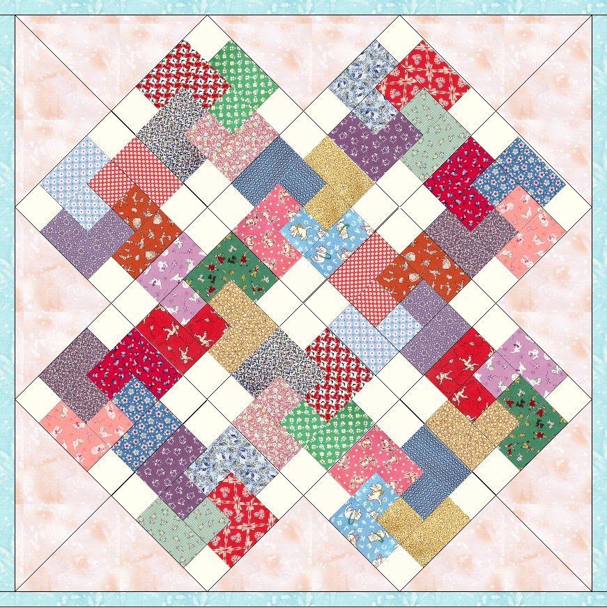 Aunt Grace Reproduction Cards 12 Pre Cut Quilt Kit 8 Blocks SALE