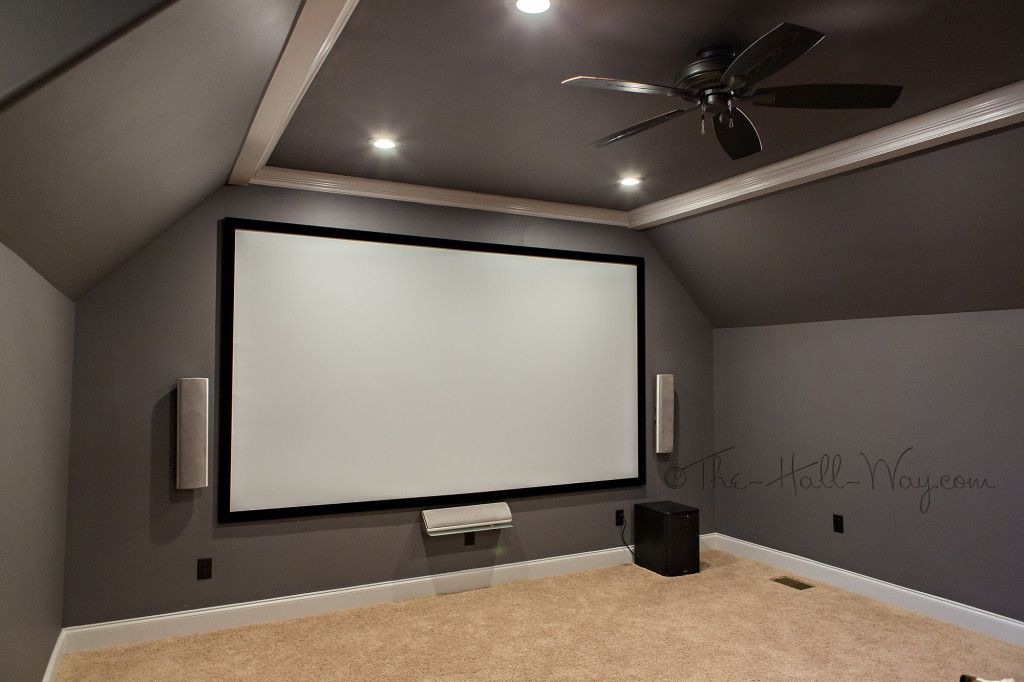 Walls are behr marquee magnet in flat with behr marquee Home theater colors