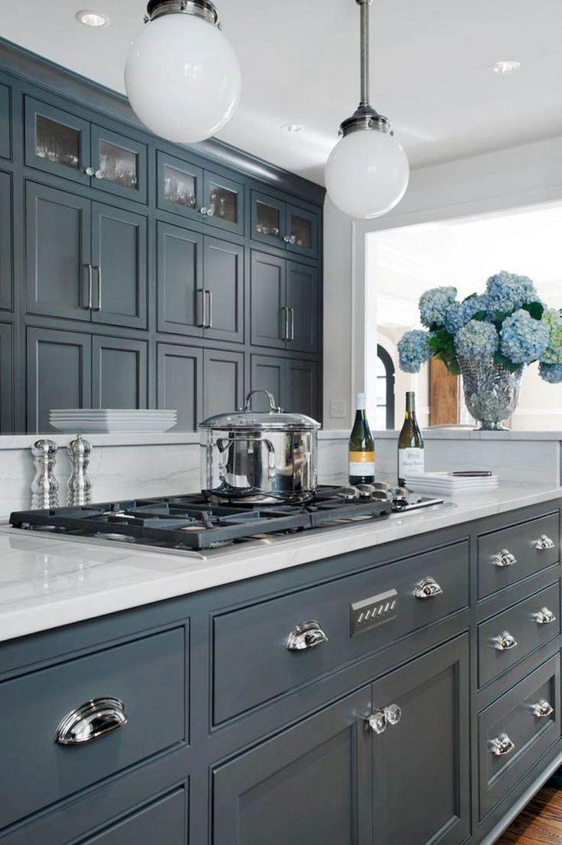 gorgeous gray kitchen cabinet decor ideas kitchen pinterest