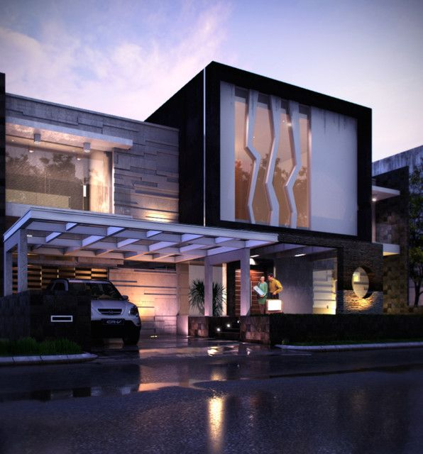 Contemporary Homes | Elevations | Pinterest | Contemporary, Modern ...