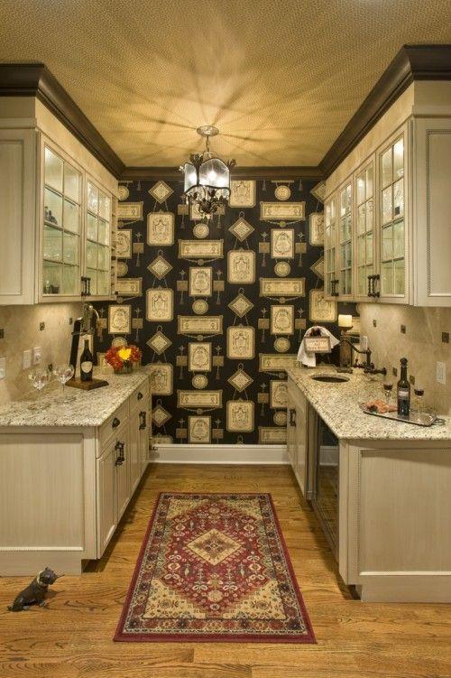 Butler\u0027s pantry alcove Home Ideas Pinterest Wet bars, Butler