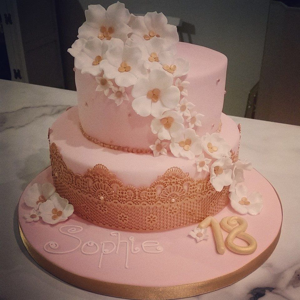18th Birthday Gold And Pink - Google Search