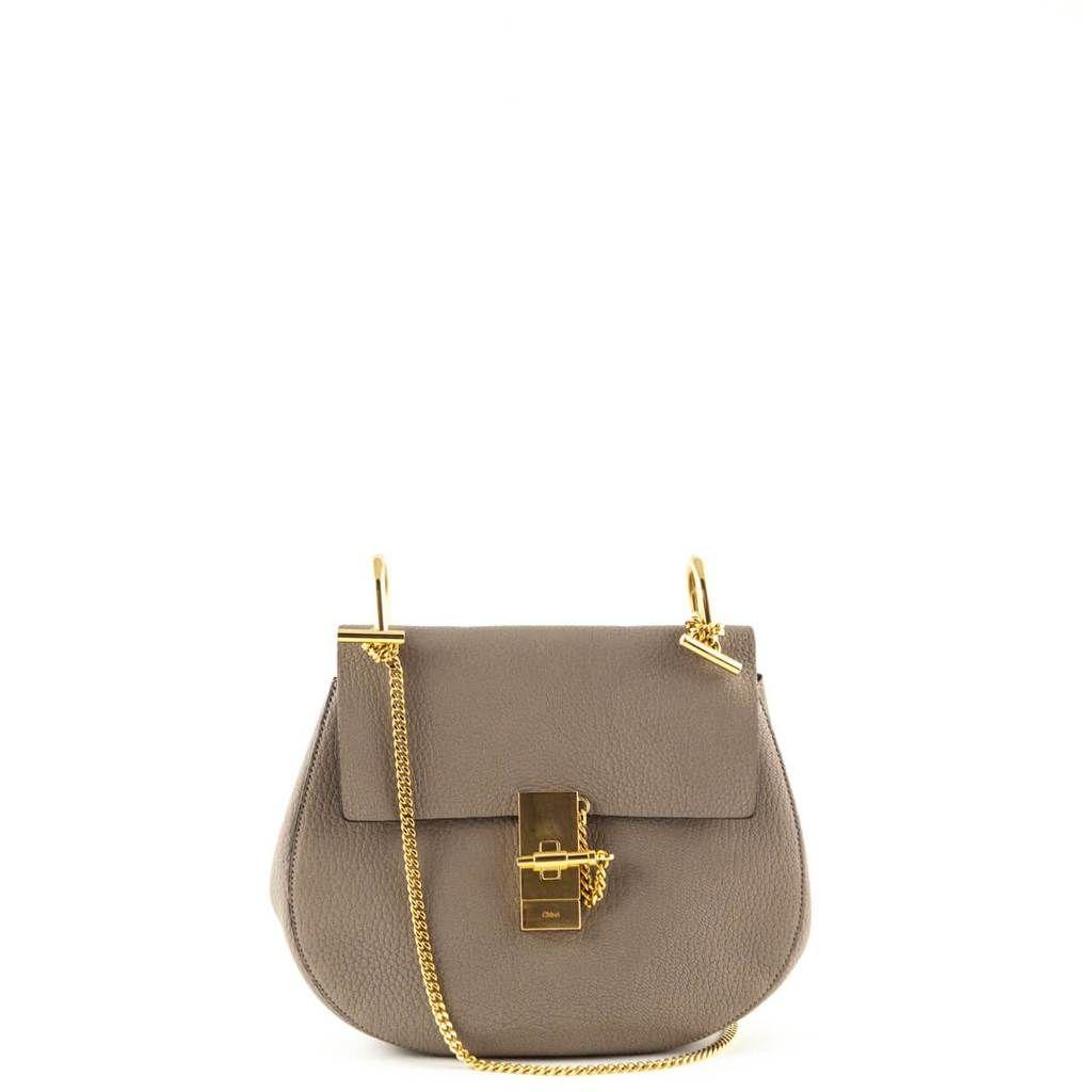 Chloe Motty Gray Calfskin Small Drew - LOVE that BAG - Preowned Authentic  Designer Handbags - ab756ba33bcc7