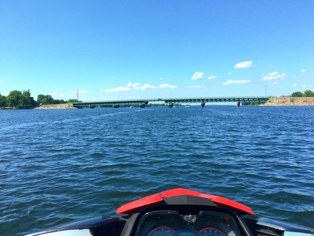 Jet ski adventure around north hero vt vacation rentals