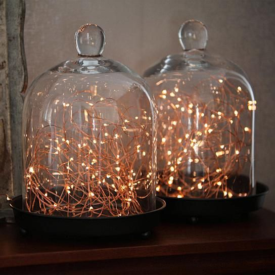 Buy 2-pack 100 White Starry LED Copper Wire Battery String Lights w/ Timer by Youphoreah on OpenSky