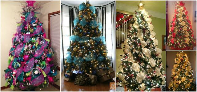 Solountip Com árbol De Navidad Malla Ideas De Arboles Navideños Decoracion De Arboles