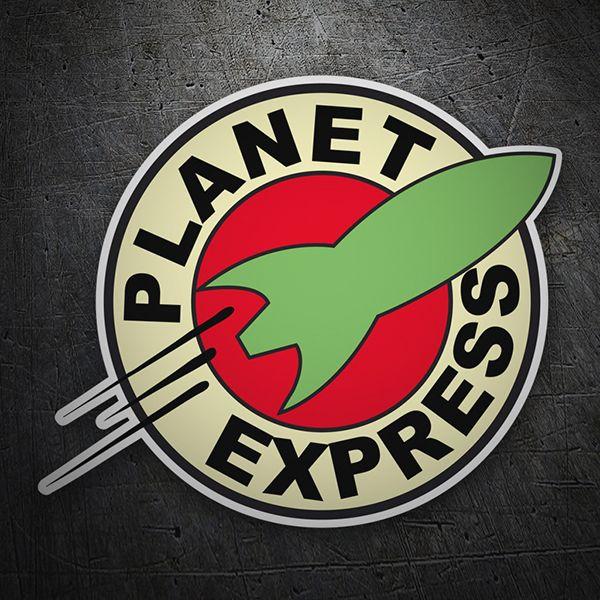 Pegatinas Futurama Planet Express Friki TeleAdhesivo Vinilos - Mio decalsmio mz transformers red striping stickers decals joehansb