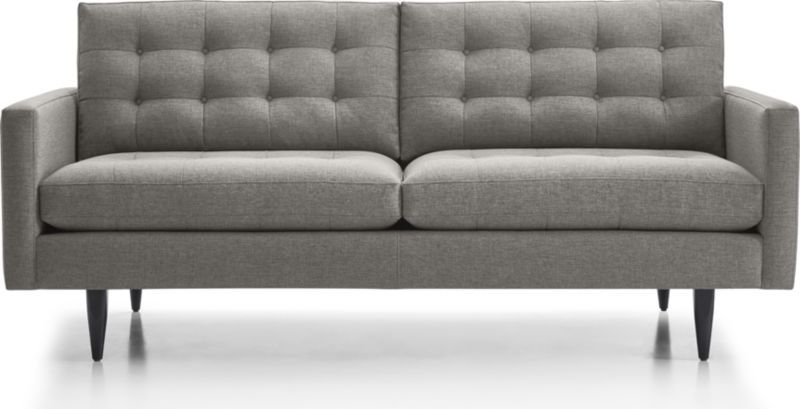 Petrie Modern Tufted Sofa Reviews Crate And Barrel Apartment