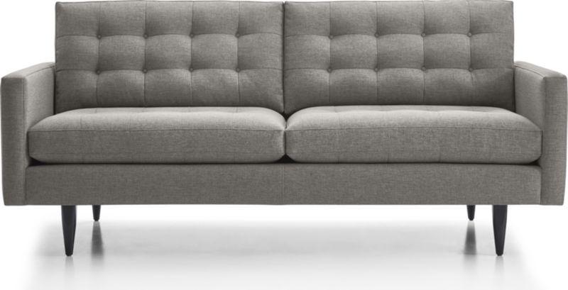 Petrie Midcentury Apartment Sofa Apartment Sofa Sofa Modern Tufted Sofa