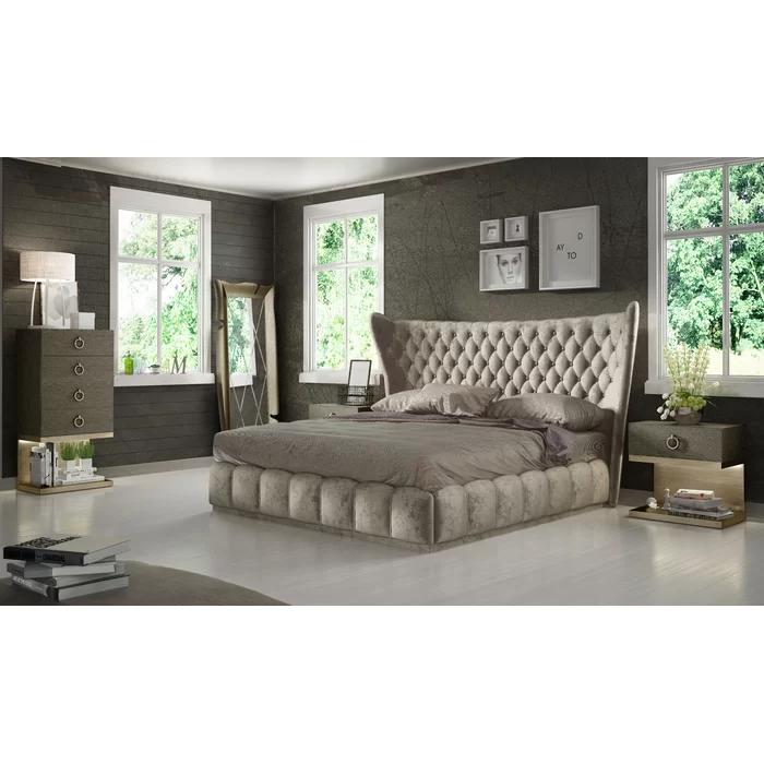 Longville Queen Standard 3 Piece Bedroom Set Bedroom Set
